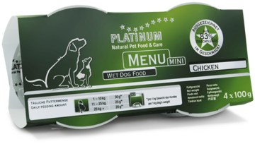 Platinum Menu mini Kana 4x100 g